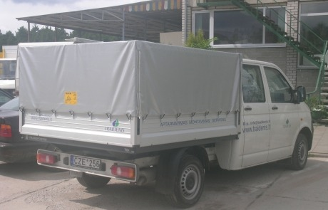 Tentai transportui